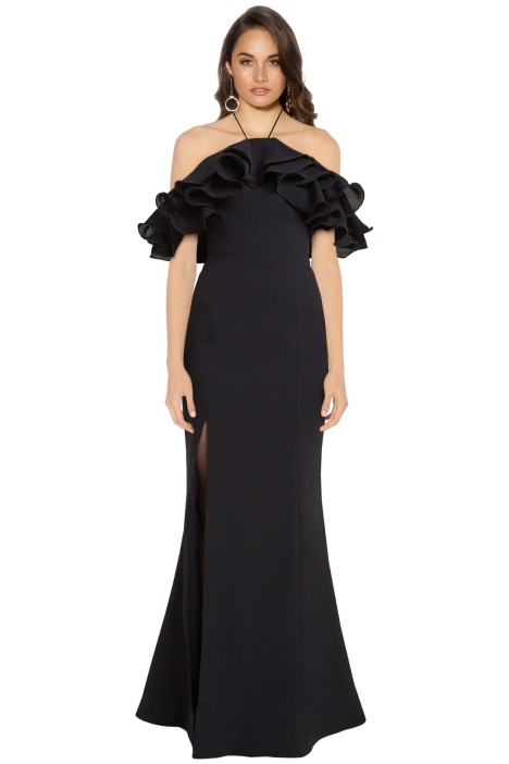 Cameo - Immerse Gown - Black - Front