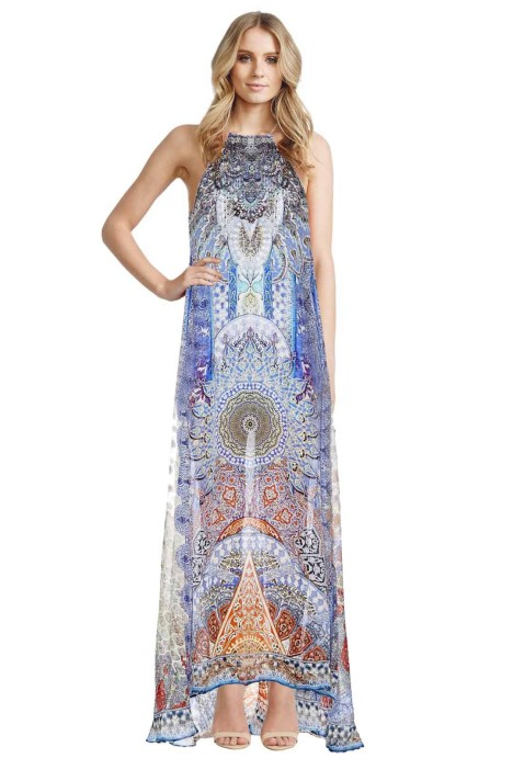 Camilla - Concubine Realm Sheer Overlay Dress - Front