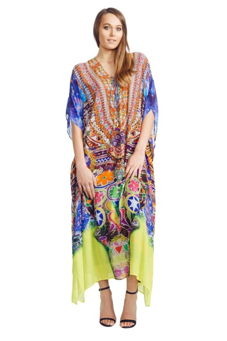 Camilla - Sacred Charm Lace Up - Prints - Front