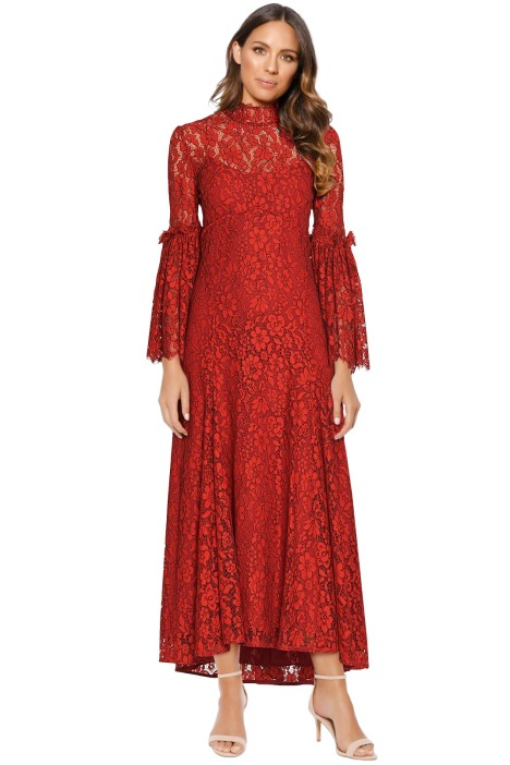 c5e7ef133d7 Clemence Midi Dress in Chilli by Camilla and Marc for Hire