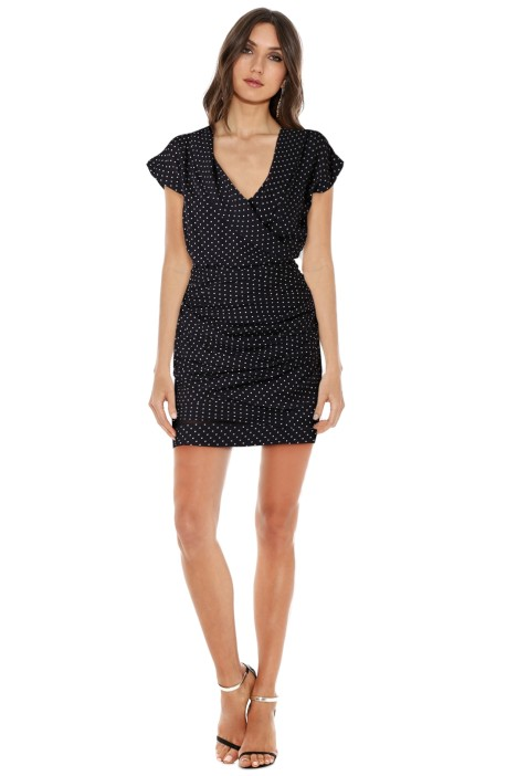 Camilla & Marc - Spotted Garden Frock - Black - Front