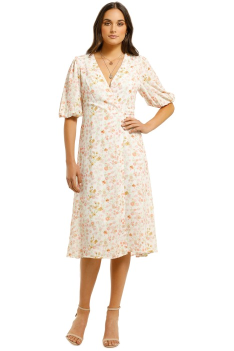 Charlie-Holiday-Salsa-Wrap-Dress-Pansy-Floral-Front