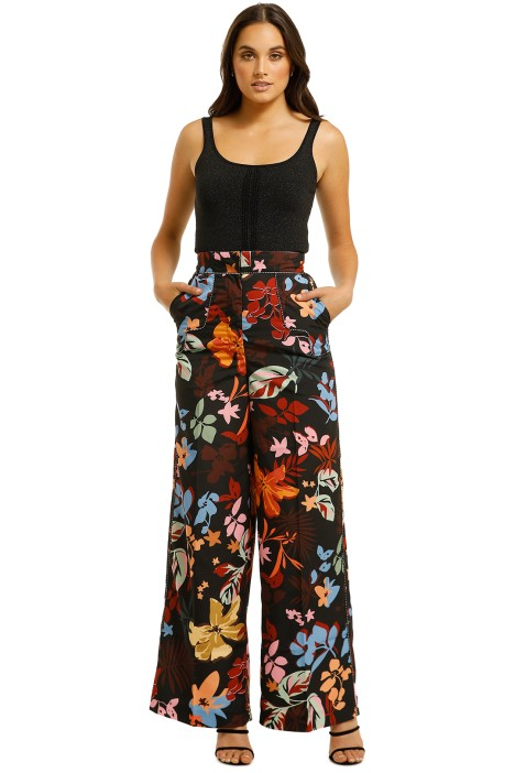 CMEO-Collective-Origin-Pant-Black-Abstract-Floral-Front