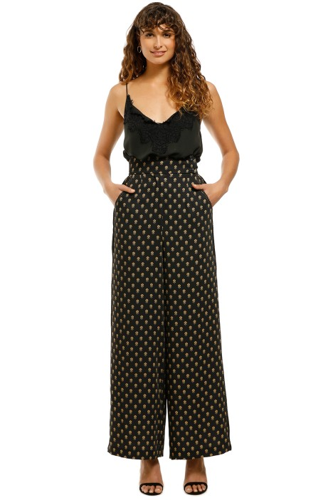 CMEO-Collective-Palatial-Pant-Black-Spliced-Paisley-Front