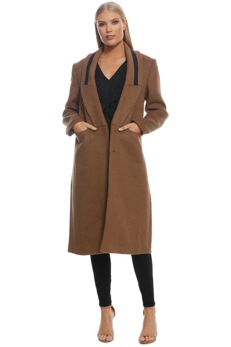 CMEO Collective - Duality Coat - Tan - Front