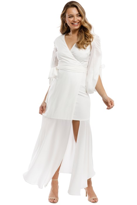 CMEO Collective - Favours Gown - Ivory - Front