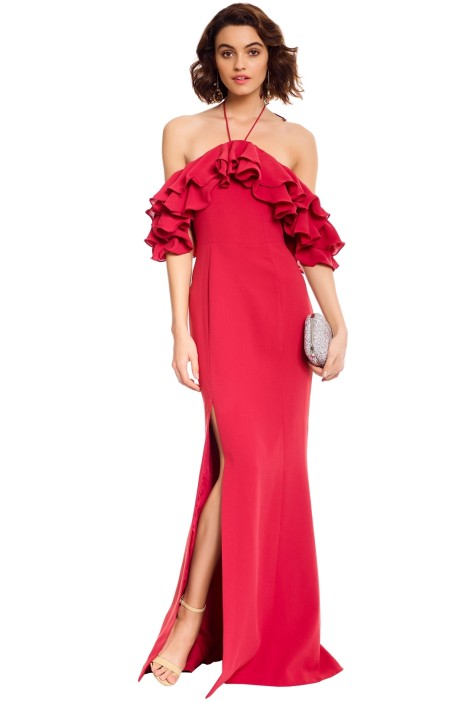 CMEO Collective - Immerse Gown - Rose - Front