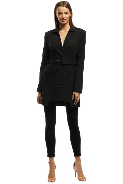 CMEO Collective - Mode LS Dress - Black - Front