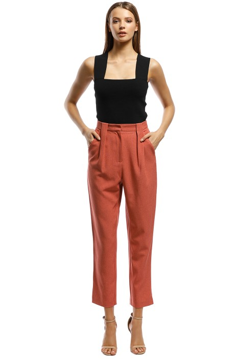 CMEO Collective - Mode Pant - Pink - Front