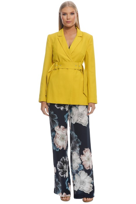 CMEO Collective - Silenced Blazer - Yellow - Front
