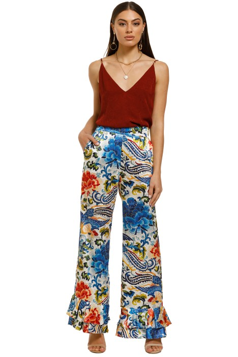 Cooper-By-Trelise-Cooper-Frilling-Feelings-Pant-Blue-Print-Front