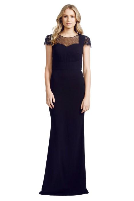 Cristallini - Adorn Gown - Front - Black