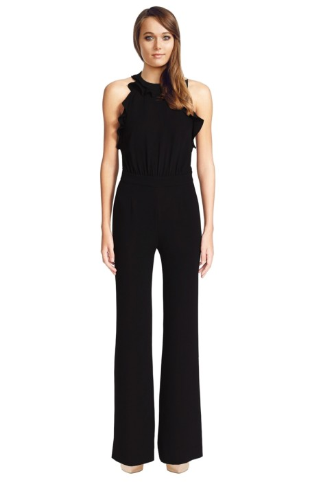 Diane Von Furstenberg - Blithe Jumpsuit - Black - Front