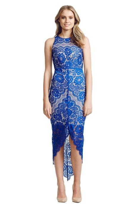 Elle Zeitoune - Angela Dress - Blue - Front