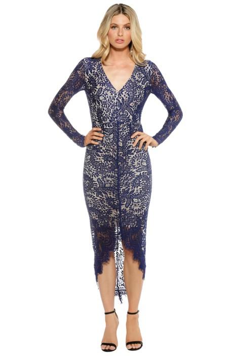 Elle Zeitoune -  Cameron Dress - Cobalt - Front