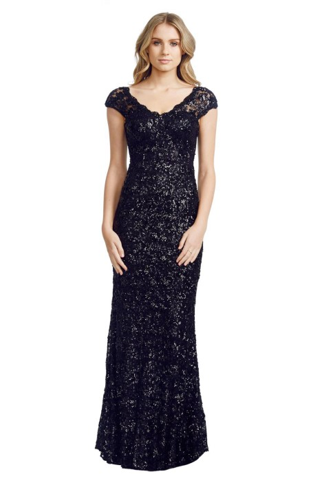 Elle Zeitoune - Gardenia Gown - Front - Black.jpg