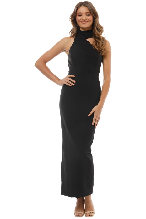 Elle Zeitoune - Harper Dress - Black - Front