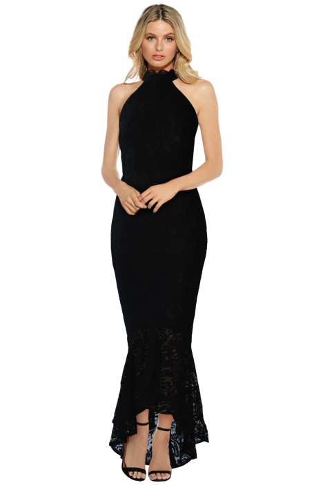 57f84b5a2e42 Mirabella Dress in Black by Elle Zeitoune for Rent