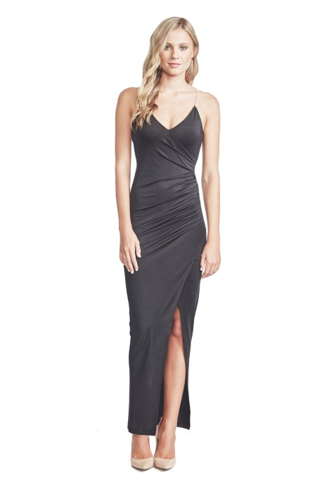 Elle Zeitoune - Willa Dress - Black - Front