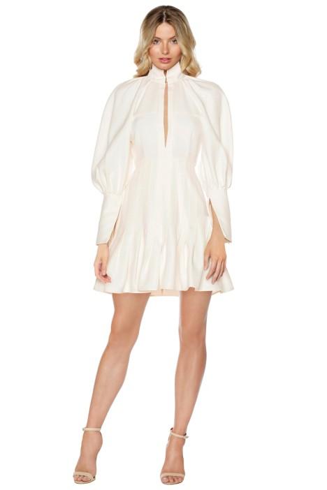 Ellery - Butler Voluminous Sleeve Dress - Front