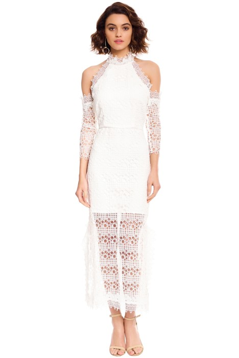 Elliatt - Ensemble Dress - White - Front