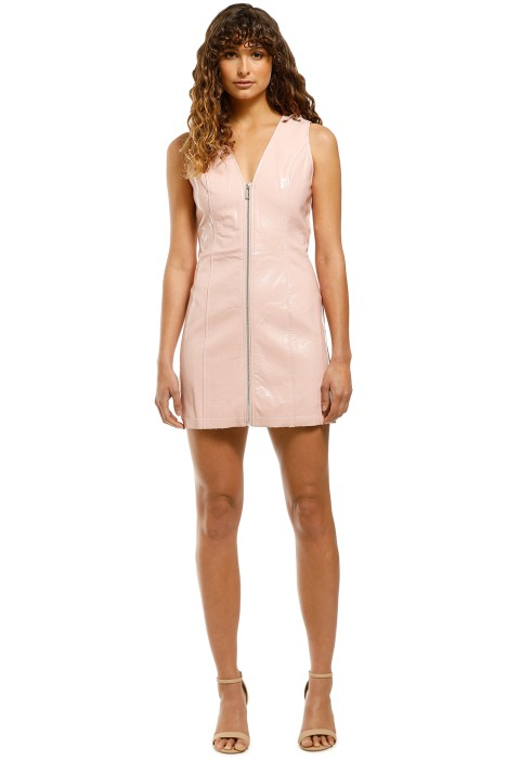 Elliatt-Covet-Dress-Pink-Front