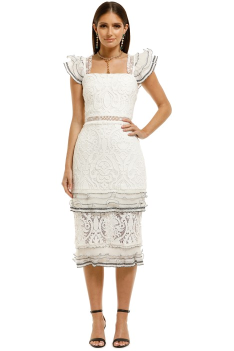 Elliatt-Esme-Dress-White-Front