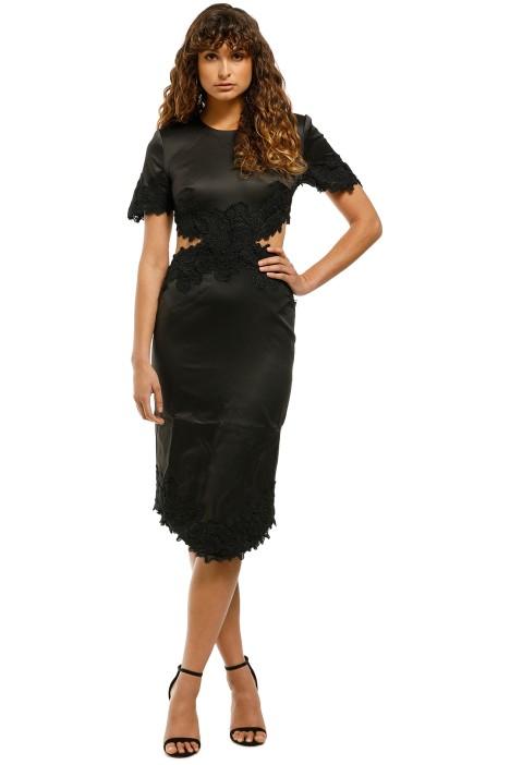 Elliatt-Sentiment-Dress-Black-Front