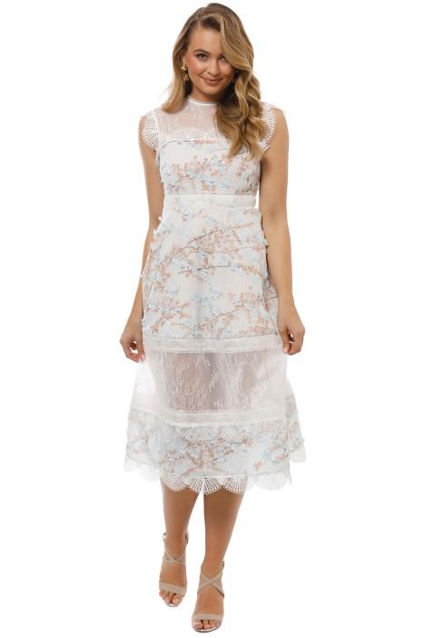 Elliatt - Ariel Dress - Blue Multi - Front