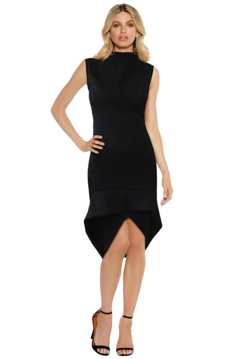 Elliatt - Ascend Dress - Black - Front