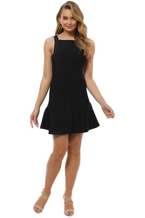 Elliatt - Audrey Mini Dress - Black - Front