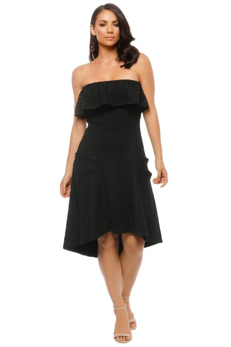 Elliatt - Belle Dress - Black - Front