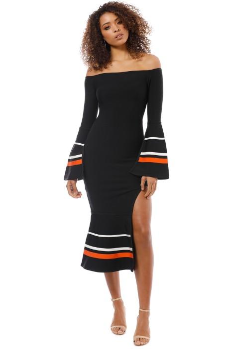 Elliatt - Bliss Dress - Black - Front