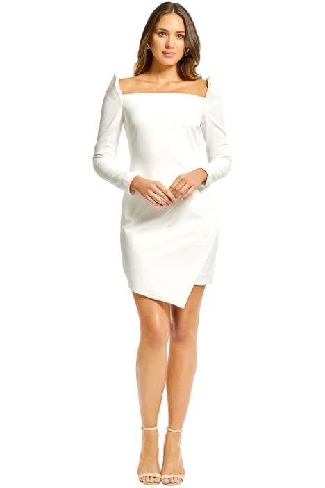 Elliatt - Duke Dress - White - Front