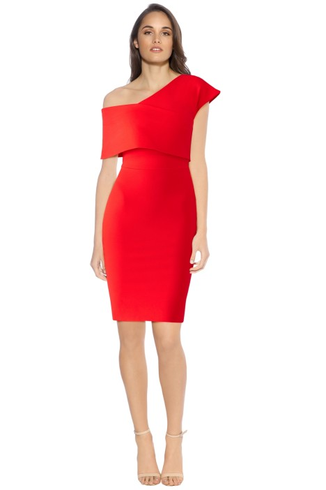 Elliatt - Emulate Dress - Red - Front