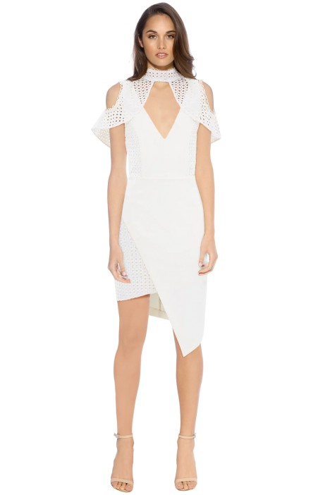 Elliatt - Fressia Dress - White - Front