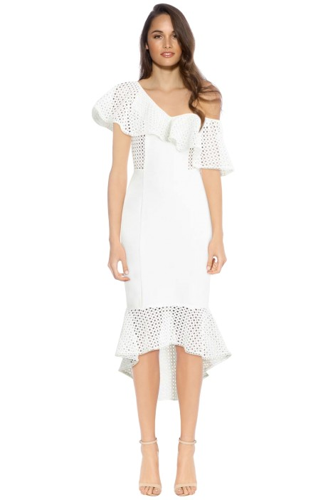 Elliatt - Harlow Dress - White - Front