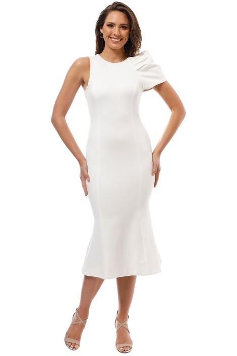 Elliatt - Imperial Dress - White - Front