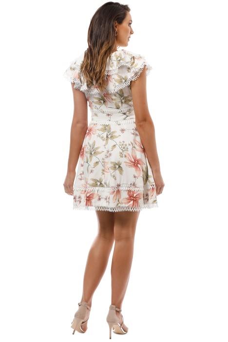 113525c69eab Jasmin Dress in White by Elliatt for Hire | GlamCorner
