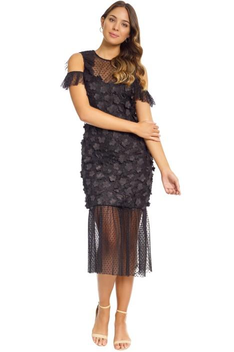 Elliatt - Oberon Dress - Black - Front