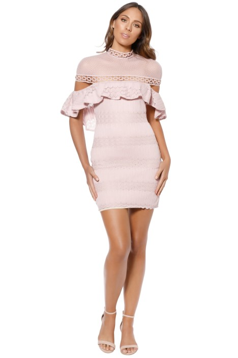 Elliatt - Pinnacle Dress - Pink - Front