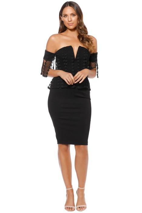 Elliatt - Sisley Dress - Black - Front