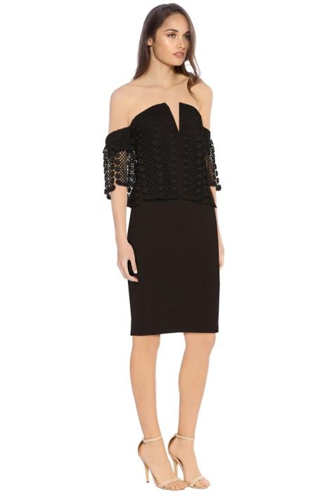 Elliatt - Sisley Dress - Black - Side