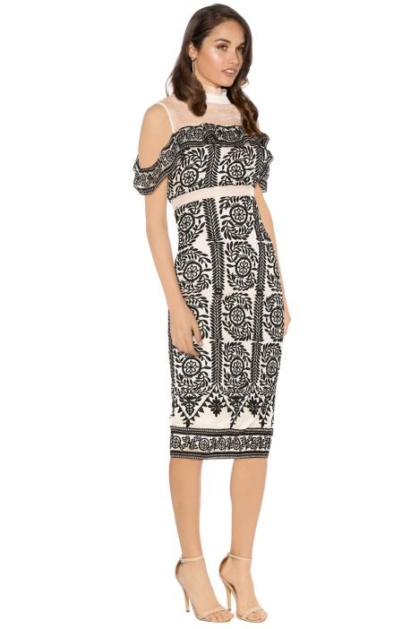 Elliatt - Soiree Dress - Black - Side