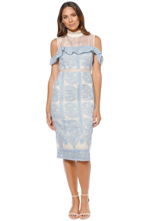 Elliatt - Soiree Dress - Sky Blue - Front