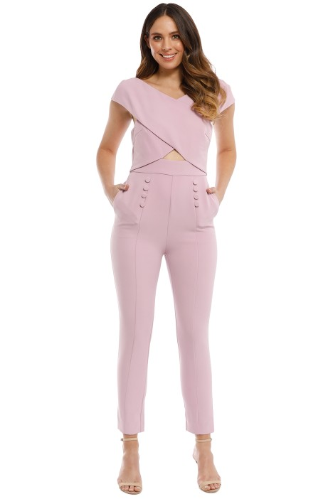 Elliatt - Sorrento Jumpsuit - Blush - Front