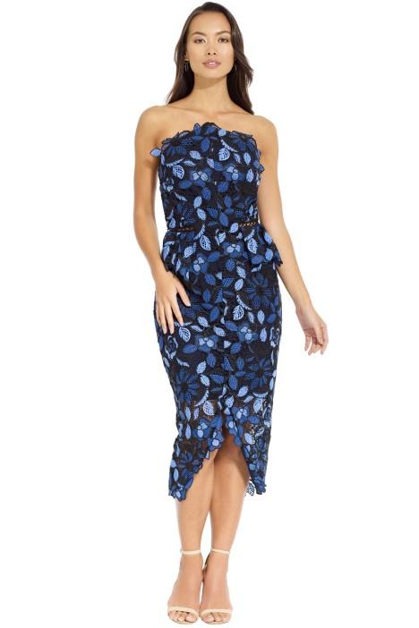 Elliatt - Times Dress - Blue Multi - Front
