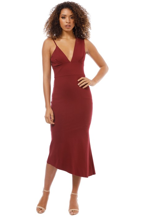 Elliatt - Venus Dress - Berry - Front