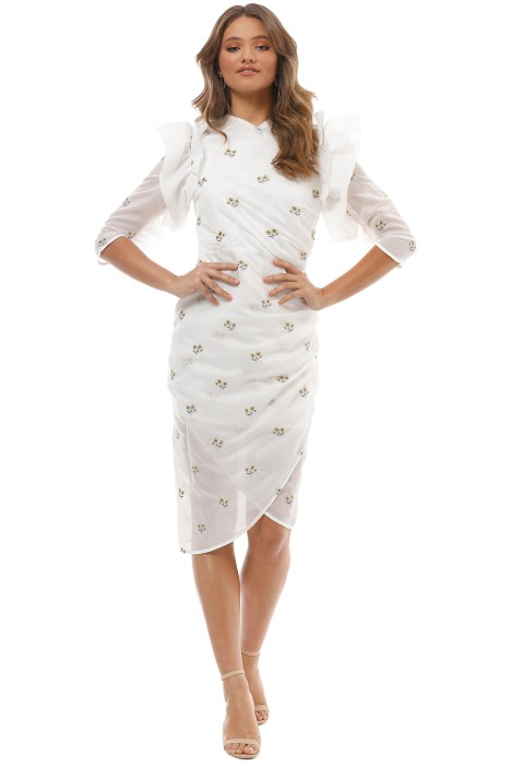Elliatt - Bianca Dress - White - Front