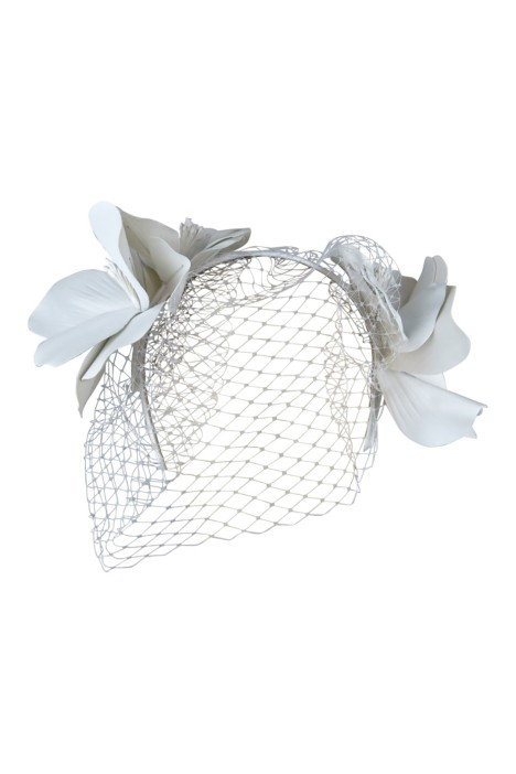 Morgan and Taylor - Tessa Fascinator - Front